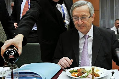 Bildergebnis für Jean-Claude Juncker besoffen