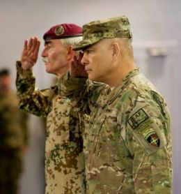 Hans-Lother Domröse bei der ISAF Afghanstian Beendigung was desaströs scheiterte