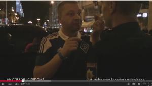 Kiew German Diplomat, agressiv, primitiv, keine Kultur, nach Edel Bordell Club besuch