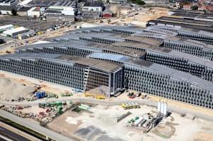 Welt Terror Zentrale in Brüssel: NATO Haupt Quartier