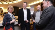 Helgem Schmidt mit Kriminellen aus Kiew in 2014