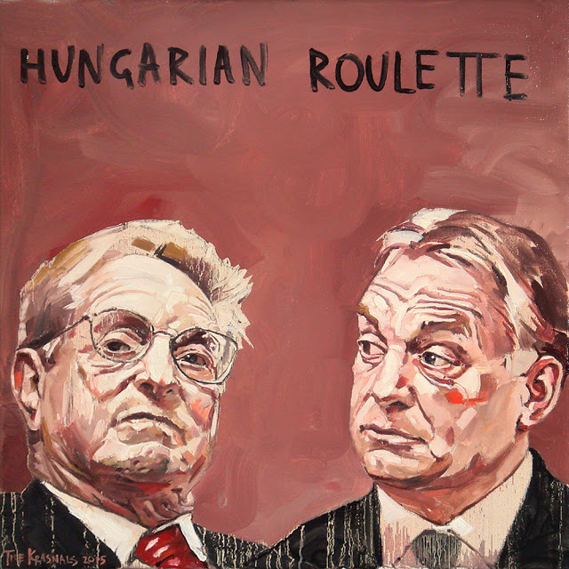 Image result for orban george soros