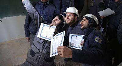 White Helms Teroristen auch von Berlin finanziert