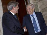 2 gefährliche Verbrecher: Paolo Gentiloni und Georg Soros