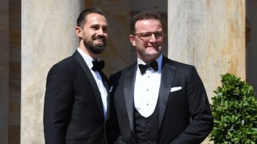 Jens Spahn und s Ehemann Daniel Funke.