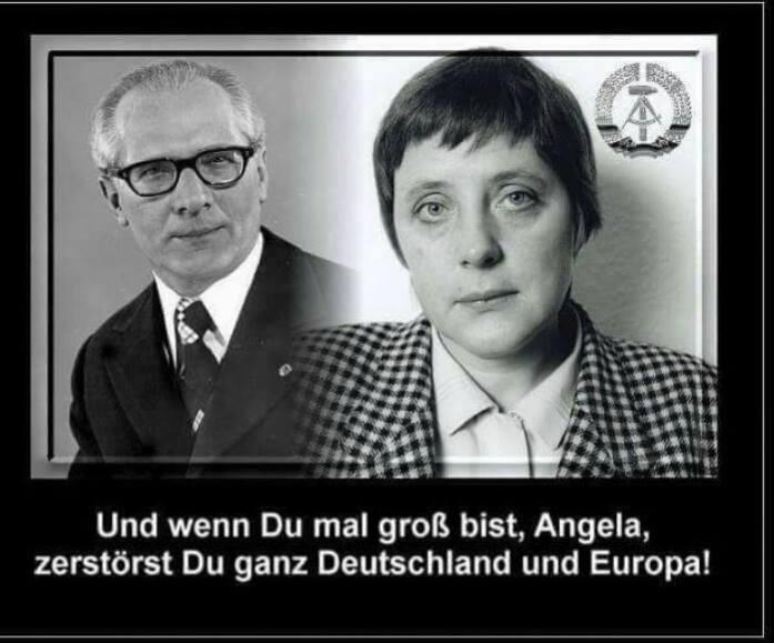 Merkel In Der Ddr